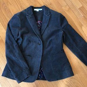 Boden women's gray corduroy blazer